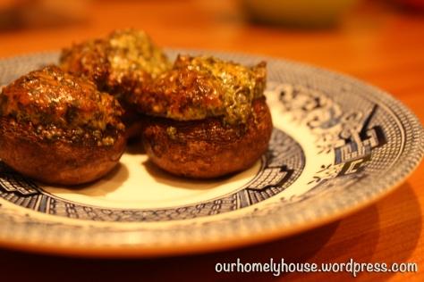 spanakopita mushrooms