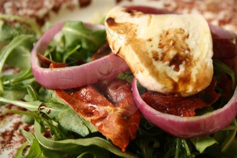 Arugula, Prosciutto, Mozzarella Salad