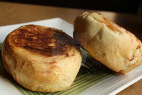 cheese english muffins - My Homespun Haven